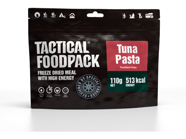 Tactical Foodpack Freeze Dried Meal 110g, Tuna Pasta